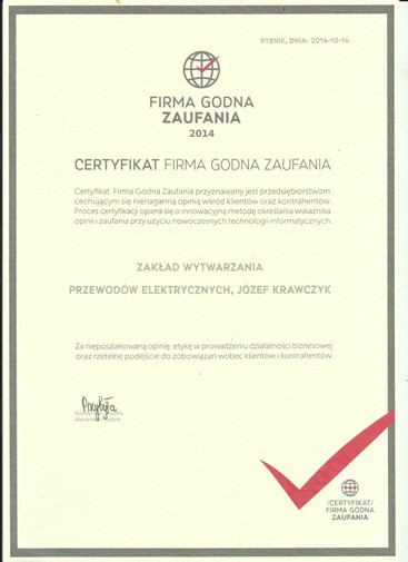 firma godna zaufania firma Krakowska